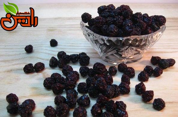 انواع میوه خشک حبه ای